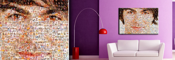 kreativ drucke fotomosaik. Black Bedroom Furniture Sets. Home Design Ideas